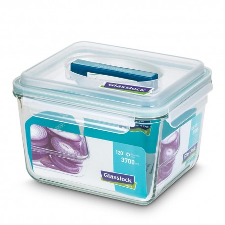 Glasslock Tempered Food Container 3700ml