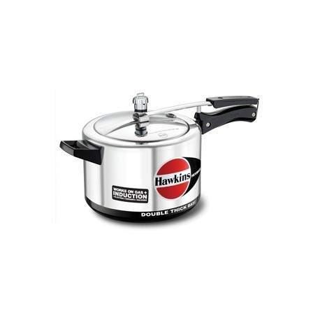 Hawkins Pressure Cooker Hevibase 5 litre (Induction Compatible)