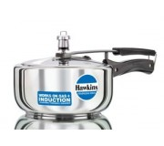 Hawkins Pressure Cooker Stainless Steel 3 litre (Induction Compatible) Tall