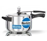 Hawkins Pressure Cooker Stainless Steel 4 litre (Induction Compatible)