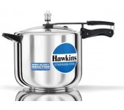 Hawkins Pressure Cooker Stainless Steel 10 litre (Induction Compatible)