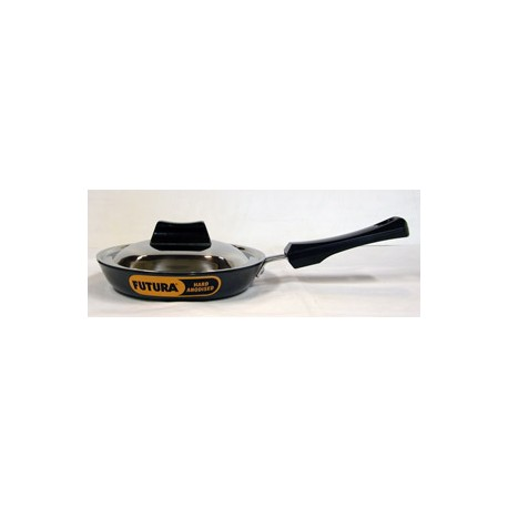 Futura Hard Anodised Frying Pan 18 cm ( Rounded Sides)
