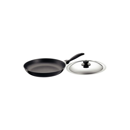 Futura Non Stick Frying Pan 30 cm (with stainless steel lid)