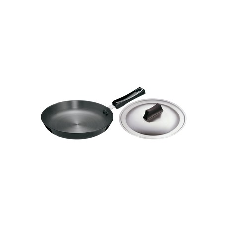 Futura Hard Anolised Frying Pan 25 cm ( Induction Base -With SS Lid)