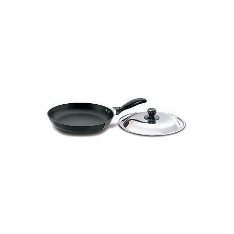 Futura Non Stick Frying Pan 26 cm (Induction Base -With SS Lid)