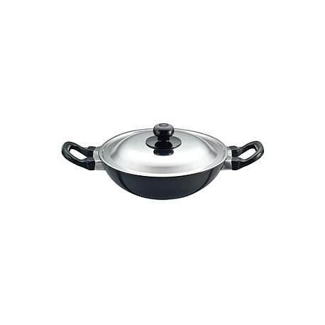 Futura Non Stick Deep Fry Pan 1.5 L With SS lid  ( kadhai )