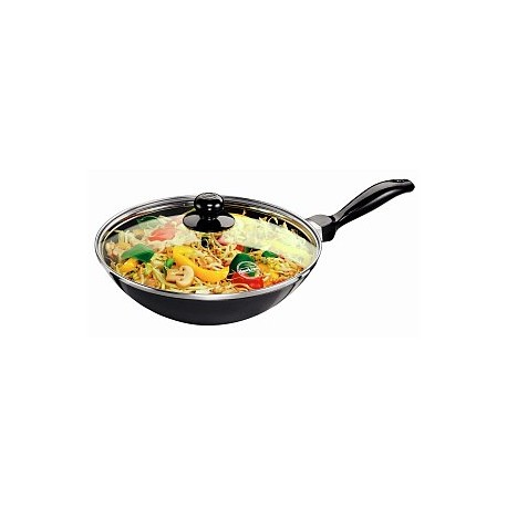 Futura Non Stick Deep Fry Pan 2 L (With Glass Lid)