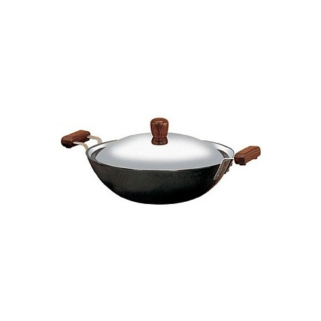 Futura Hard Anodised Deep Fry Pan 2.5 L (With SS Lid-Induction Model)