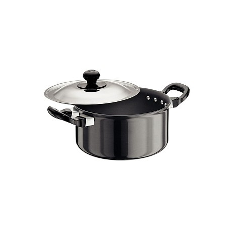 Futura Hard Anodised Cook n Serve Stewpot 2.25 L (With SS Lid)