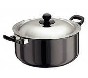 Futura Hard Anodised Stewpot 5 Litre With Lid