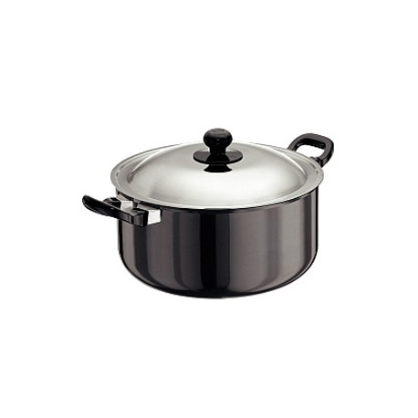 Futura Hard Anodised Cook n Serve Stewpot 5 L (With SS Lid)
