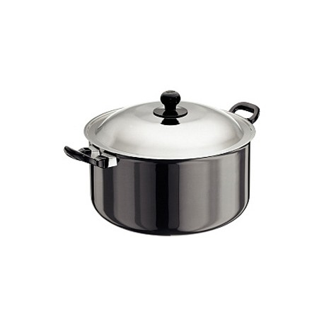 Futura Hard Anodised Cook n Serve Stewpot 8.5 L (With SS Lid)