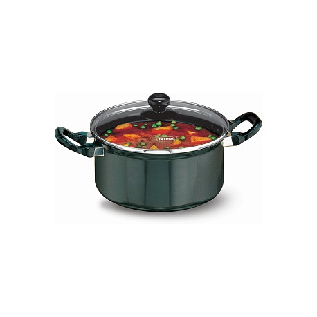 Futura Non Stick Cook n Serve Stewpot 3 L (With Glass Lid)