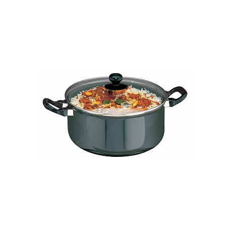 Futura Non Stick Cook n Serve Stewpot 5 L (With Glass Lid)