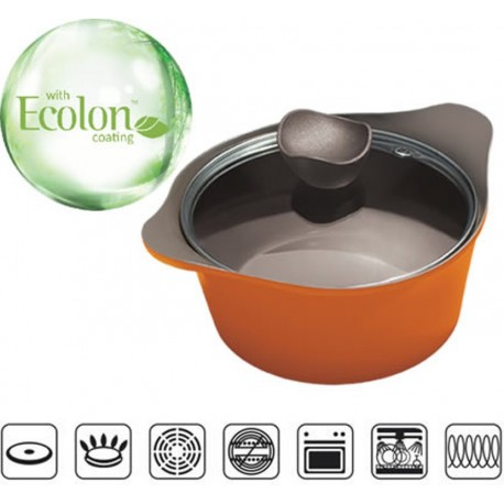 Alda Diecast Cearamic Casserole (With Lid) 24 Short