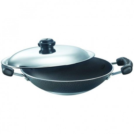 Prestige Omega Select Non Stick Deep Appachatty 200 mm (With Lid)