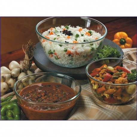 Borosil Mixing Bowl Sets