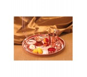 Borosil Copper Puja Thali Set