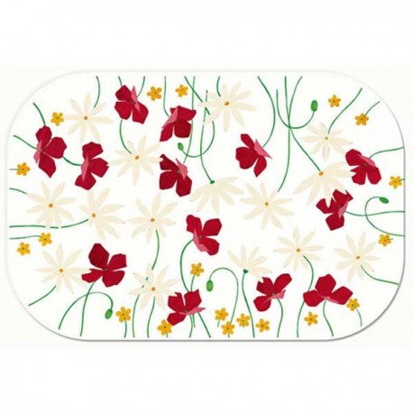 Freelance Table Mats Frosted ( 6 Pcs Set) - 6114FR