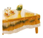 Freelance Table Cover Transparent Without Laced Edges (60x36) - CTCLRA2
