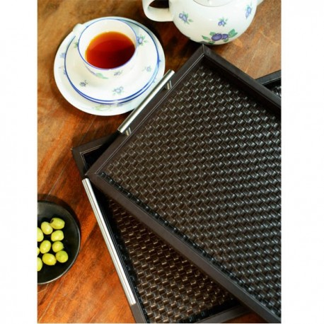 Freelance Manhattan Trays Brown (2 Pcs Set) - MHTR3