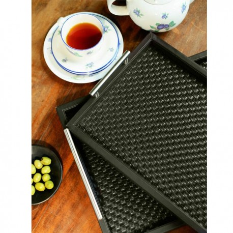 Freelance Manhattan Trays Black (2 Pcs Set) - MHTR4