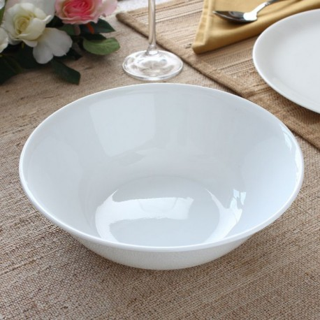 Corelle Winter Frost White Round Serving Bowl 1 Ltr