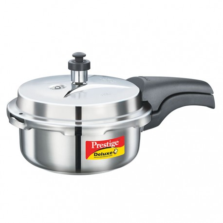 Prestige Pressure Cooker Deluxe Plus Stainless Steel 2 Litre