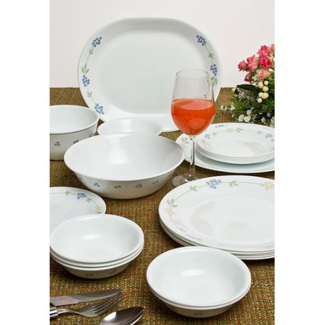 Corelle Dinner Set 21 Pcs (Secret Garden)