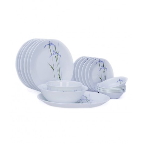 Corelle Asia Dinner Set 21 Pcs - (Shadow iris)