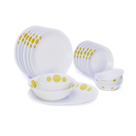 Corelle India Collection Dinner Set 21 Pcs (Spiral)