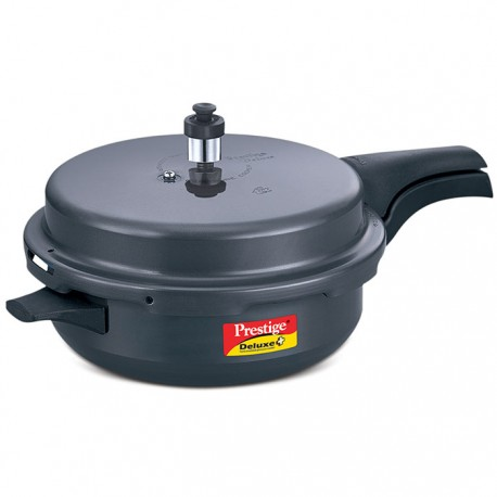 Prestige Pressure Cooker Deluxe Plus Hard Anodised Senior Pan
