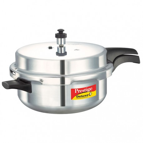 Prestige Pressure Cooker  Deluxe Plus  Stainless Steel Senior Pan