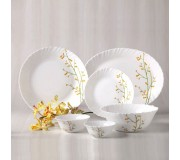 La Opala Diva 27 Pcs Dinner Set - Citron Weave