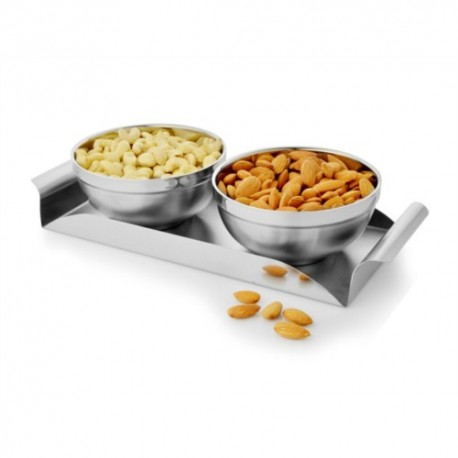 Mosaic Double Wall Bowl Tray (1SRW-SST-DBTS-03)