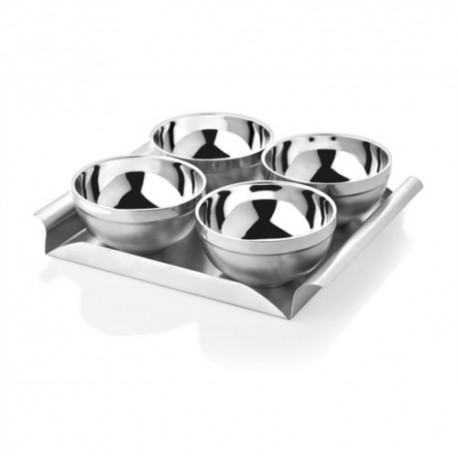 Mosaic Double Wall Bowl Tray (1SRW-SST-DBTS-05)