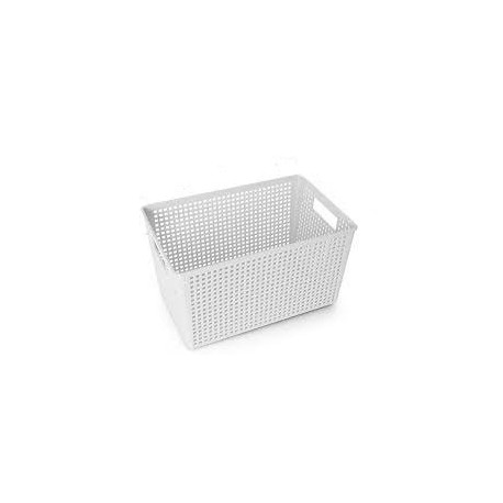 Lock&Lock Fashion Basket, White (HP266)