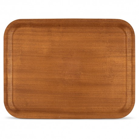 Freelance Wooden Nature Tray, (Red Mahogany) - (32x24CM)