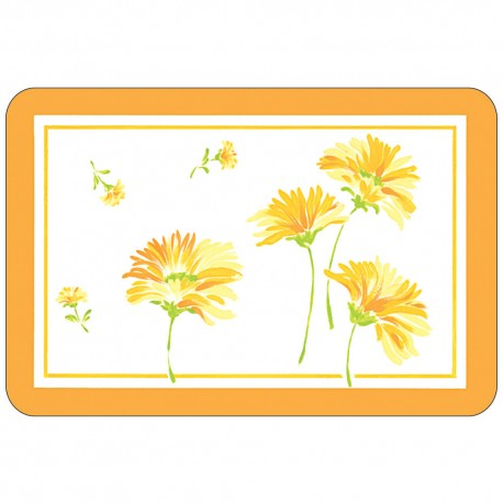 Freelance Table Mat Frosted Se Of  6 Pcs - 6066FR