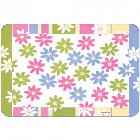 Freelance Table Mat Frosted Se Of  6 Pcs - 7026FR