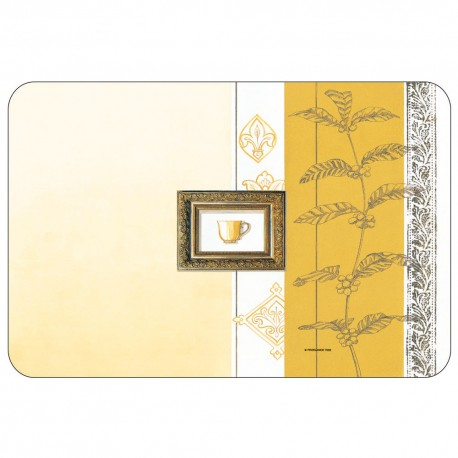 Freelance Table Mat Frosted Set Of  6 Pcs - 7033FR