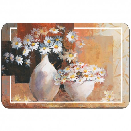 Freelance Table Mat Frosted Set Of  6 Pcs - 7082FR