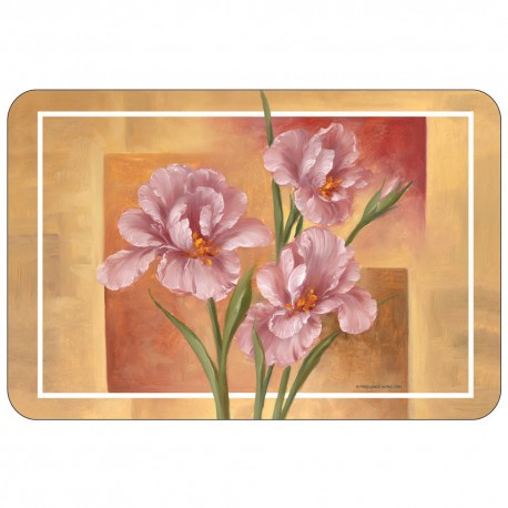 Freelance Table Mat Frosted Set Of  6 Pcs - 7084FR