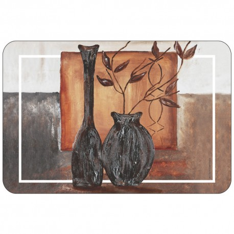 Freelance Table Mat Frosted Set Of  6 Pcs - 7085FR