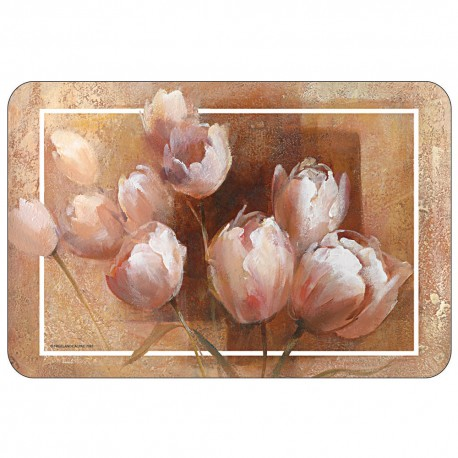 Freelance Table Mat Frosted Set Of  6 Pcs - 7087FR