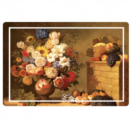 Freelance Table Mat Frosted Set Of  6 Pcs - 7095FR