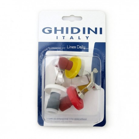 Ghidini Bottle Stopper 3 Pcs
