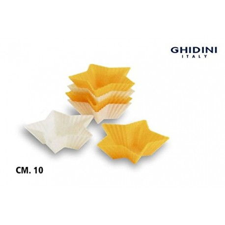 Ghidini Kitchen Essentials Silicone Star Muffin Mould 6 Pc (9 cm)