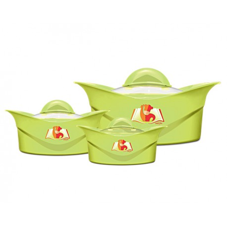 Milton Regalia Casserole Set 3 Pcs