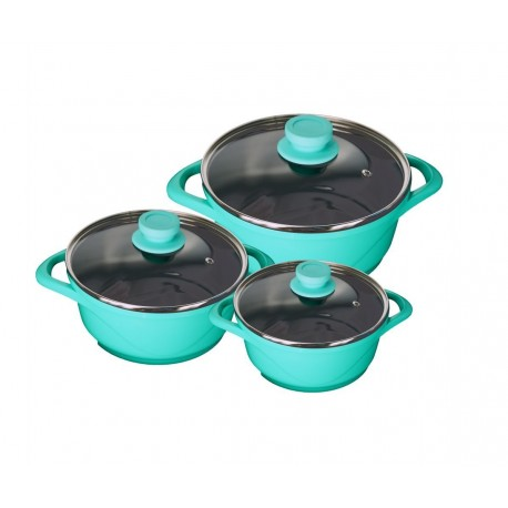 Wonderchef Ceramide Casserole Set (Set Of 6 Pcs)
